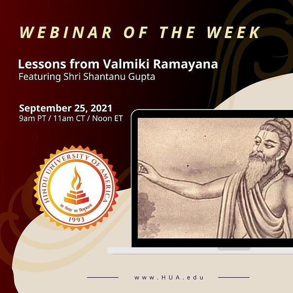 Lessons from Valmiki Ramayana