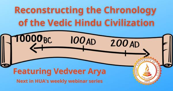 Reconstructing the Chronology of the Vedic Hindu Civilization