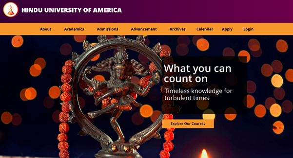 Webinar on 'Orientation to Hindu Studies'