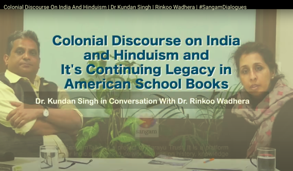 Colonial Discourse on India and Hinduism