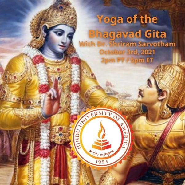 Yoga of the Bhagavad Gita