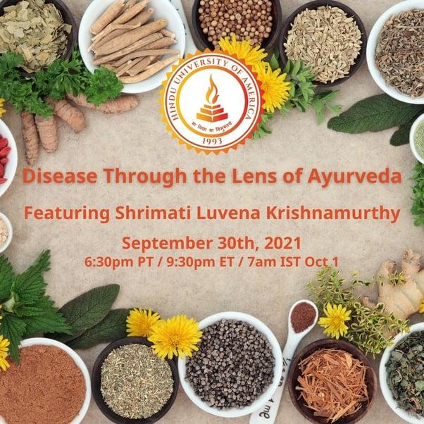 Disease Through the Lens of Ayurveda