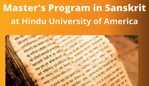 Master's Program in Sanskrit at HUA - January 30, 2021