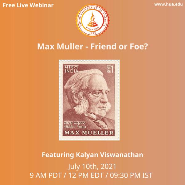 Max Muller - Friend or Foe?