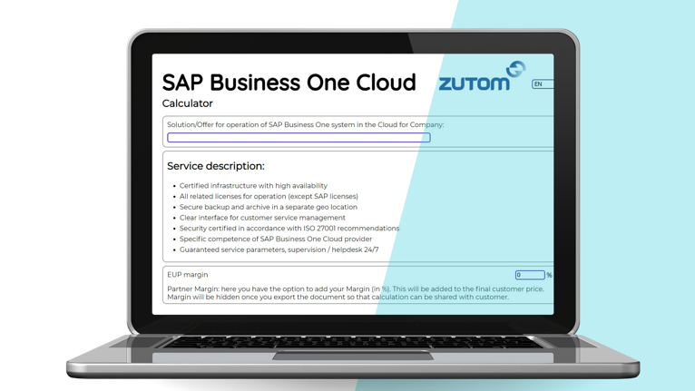 SAP Business One Cloud: how to calculate costs