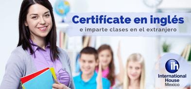 Especialízate en el idioma y comienza a enseñar inglés en el extranjero