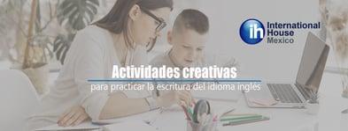 Actividades creativas para niños en inglés