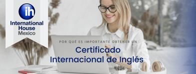 ¿Por qué es importante tener un certificado internacional de inglés?