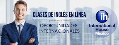 Clases de inglés en línea para alcanzar oportunidades internacionales