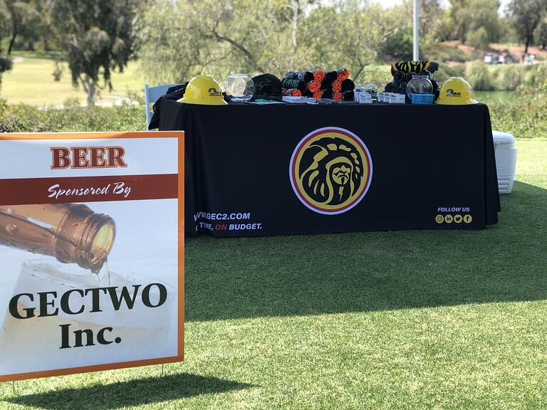 GEC2 Sponsors 2nd Annual Construction Network Golf Tournament