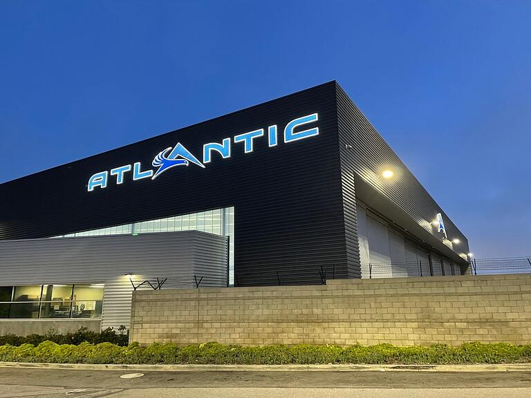Atlantic Aviation Partners with GEC2 for Signage Repair