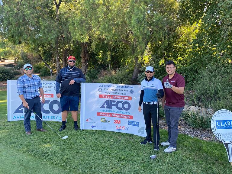 GEC2 Hits the Green for 29TH Annual LAX Kiwanis Charity Golf Tournament