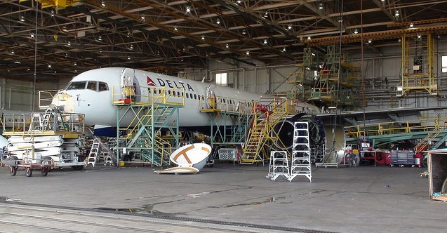 GEC2 Wins LAX Delta Maintenance Hangar Project