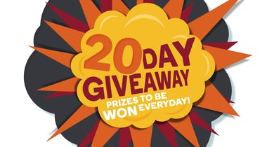20 Day Giveaway round-up