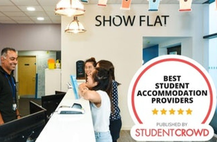 Student Roost rated Number 1 UK Student Accommodation Provider!