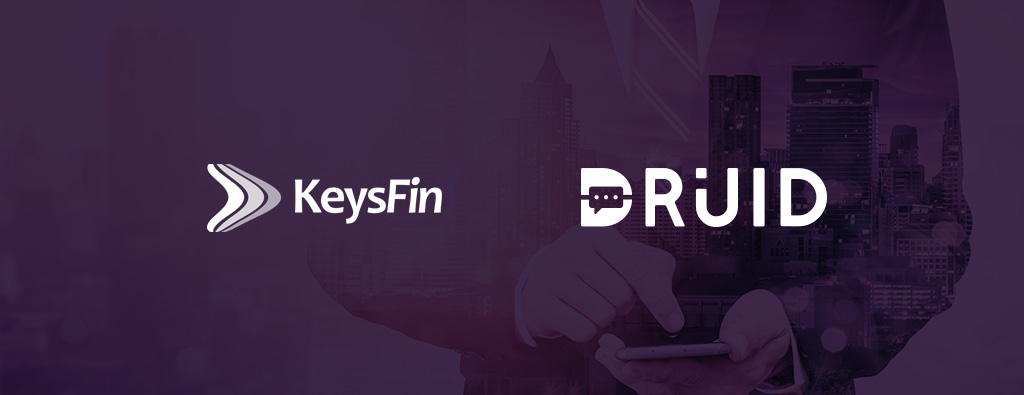 DRUID chatbots provide in-chat credit reports through a partnership with KeysFin