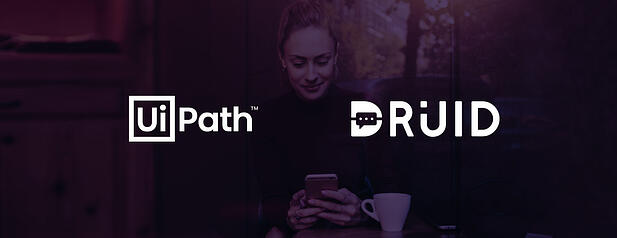 UiPath partners with DRUID to resell the RPA-integrated Chatbot Platform globally