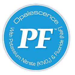 Most Opalescence teeth whitening kits contain potassium nitrate and fluoride for patient comfort.]