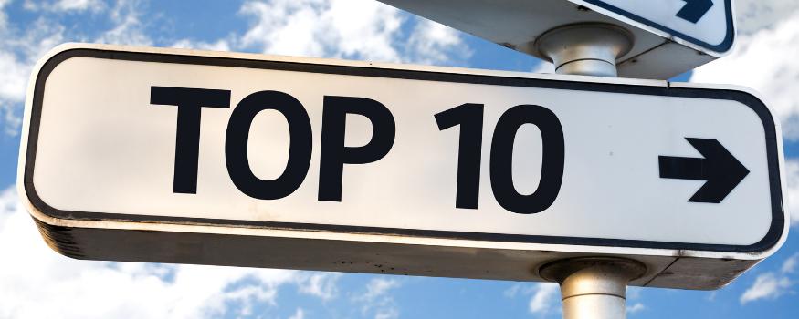 Brightmetrics™ Top 10 Charts