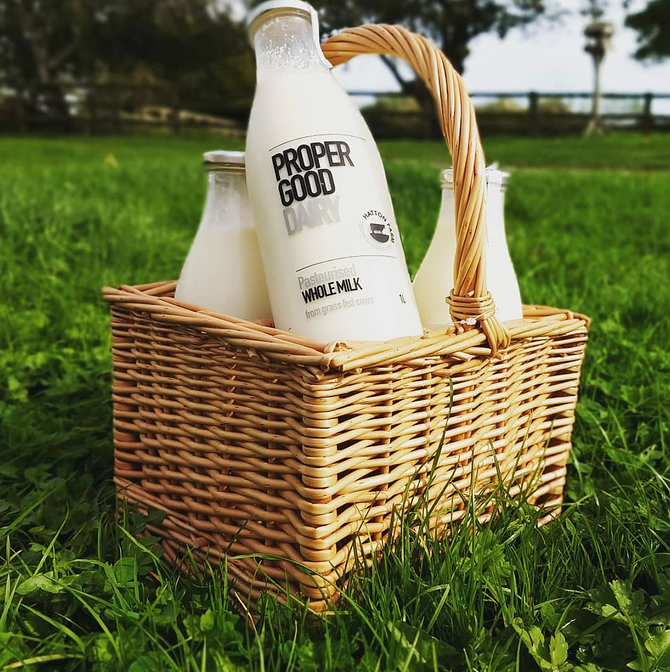 UK Figured Farmers - Hatton Farm & Proper Good Dairy