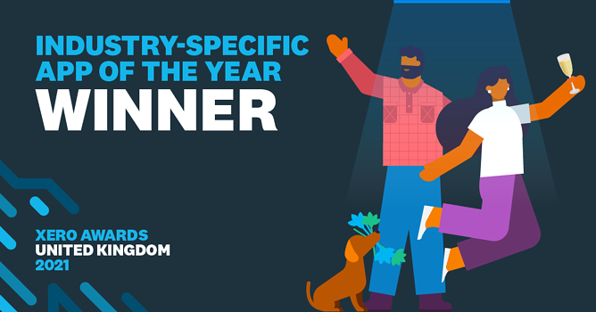 Xero Industry Specific App of the Year - we won!