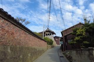 【相川地区】佐渡市相川 佐渡奉行所と金山を結ぶ歴史の道 京町通り