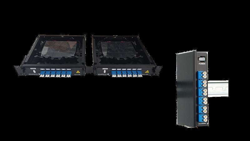 Hybrid Fiber and Power Termination Panels