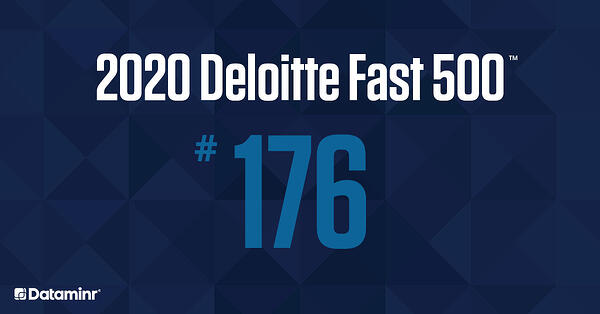 Dataminr Ranked Number 176 Fastest-Growing Company in North America on Deloitte's 2020 Technology Fast 500™