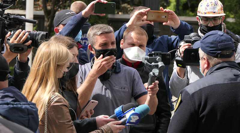 Helping Journalists Find Breaking News During a Global Pandemic