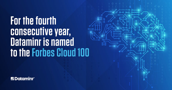 Dataminr Named to the 2020 Forbes Cloud 100 Ranking