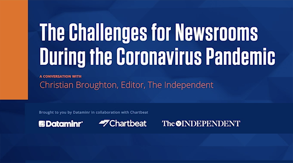 The Challenges for Newsrooms During the Coronavirus Pandemic