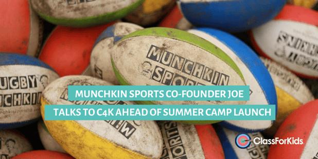 Munchkin Sports Co-Founder, Joe, Talks to ClassForKids Ahead of Summer Camp Launch