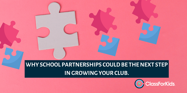 Why School Partnerships Could Be the Next Step in Growing Your Club
