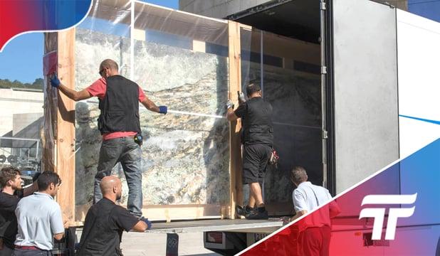 Como transportar obras de arte