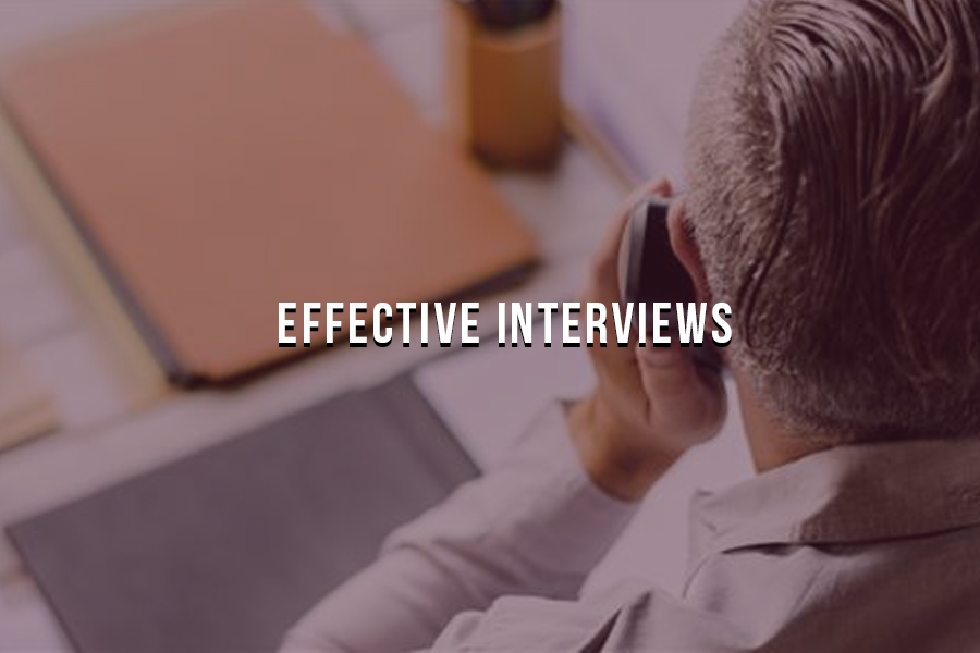 How Kinetix Recruiters set up Hiring Managers for Effective Interviews