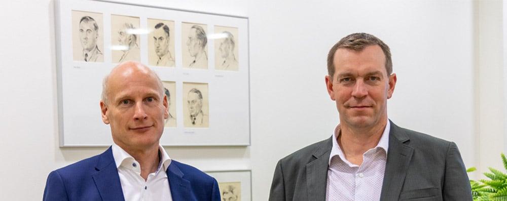 Kyösti Kuusinen ja Timo Kalliomäki