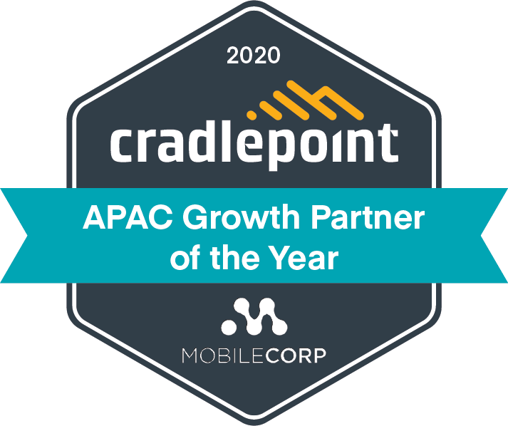 MobileCorp wins Cradlepoint APAC Growth Partner of the Year award