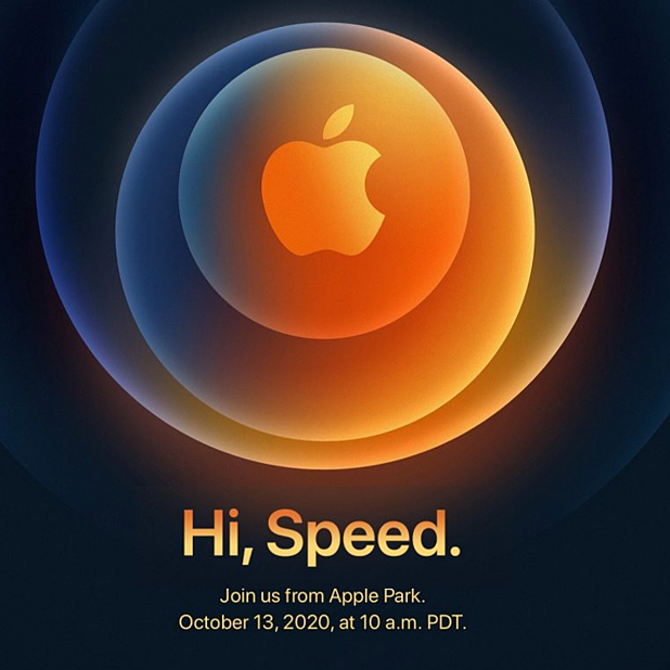 Hi, Speed.  Apple iPhone 12 event invitations tease 5G