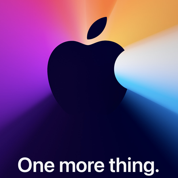 One More Thing. Apple announce yet another 2020 event.