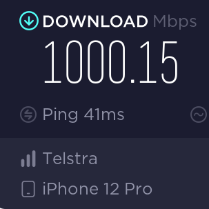 Telstra 5G speeds are smashing 1000Mbps in Australia's cities