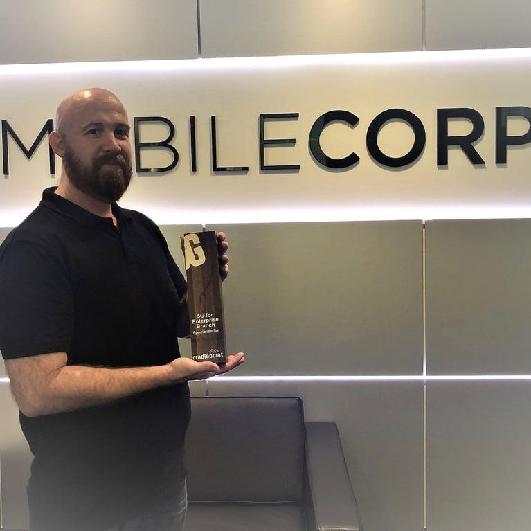 MobileCorp awarded Cradlepoint 5G for Enterprise Branch specialisation