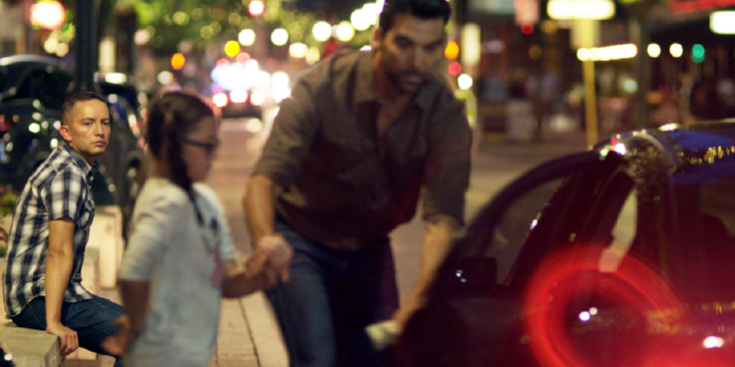 man trafficking a little girl