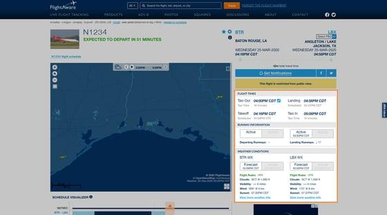 Detailed Flight Information