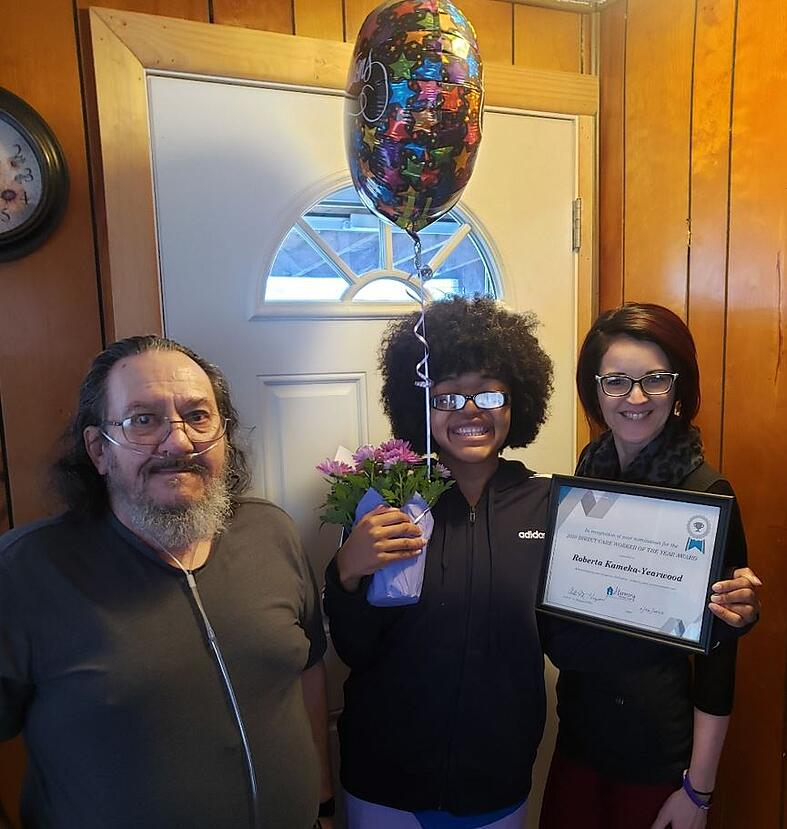 Harmony Honors Caregiver of the Year Nominees