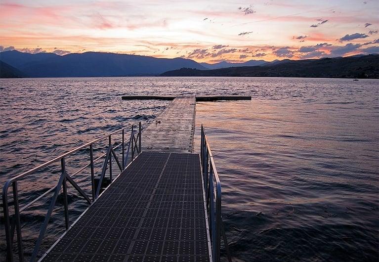 Lake Chelan Sunset