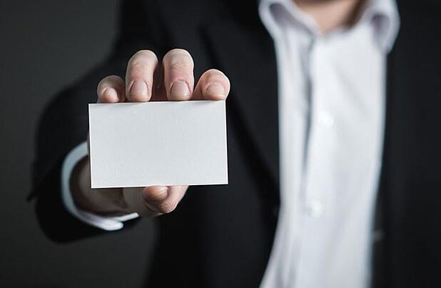 Small business tip: Don't forget the business cards