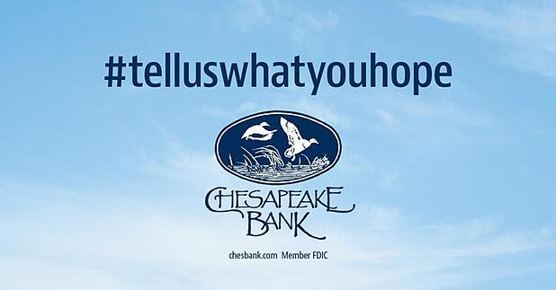 Customers discuss their hopes for the future with Chesapeake Bank