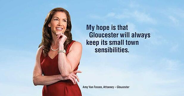 From Gloucester, to Stanford, to Tulane, to Gloucester: Amy Van Fossen, Gloucester Attorney