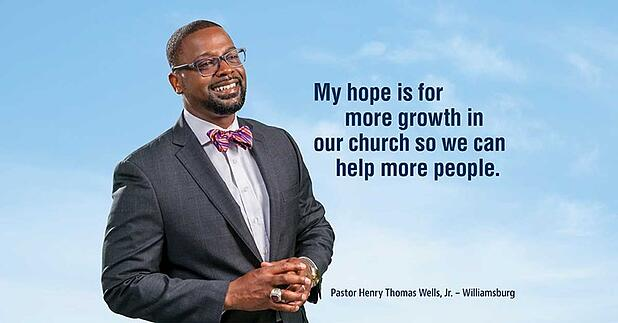 Helping those who help: Pastor Wells of Kingdom Life Christian Church