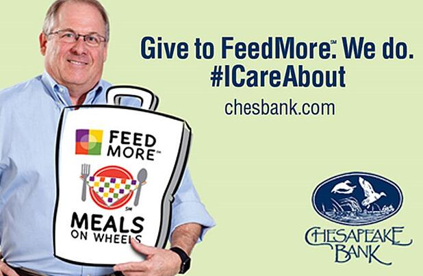 Frank Bell & FeedMore's Meals on Wheels